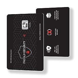 1ad1c2ff21 Blocco Protezione RFID per Carte di Credito e Bancomat Contactless – Carta  di Blocco RFID ...