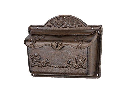 Briefkasten Wandbriefkasten Eisen Antikstil Landhausstil Shabby iron letterbox - 3