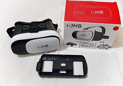 SportTechi-JMB Android & iOS 3D Virtual Reality Brille, Smart Phone Universal Headset Goggle...