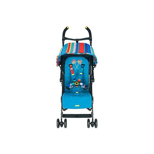 Maclaren Dylan's Candy Bar Volo Stroller - super lightweight, compact Maclaren Basic weight of 3.3kg/7.2lb; ideal for children 6 months and up to 25kg/55lb Maclaren is the only brand to offer a sovereign lifetime warranty Extendable upf 50+ sun canopy and built-in sun visor 14