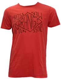 BOSS ORANGE TAKEOUT 2 TEE SHIRT FARBE ROT 634