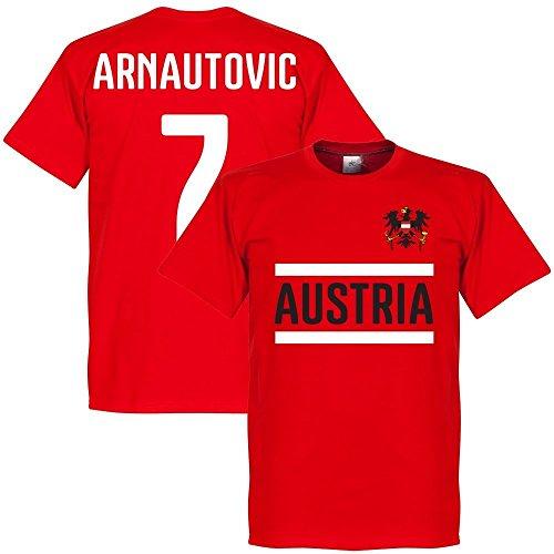 Österreich Arnautovic 7 Team T-Shirt - rot - XXXL