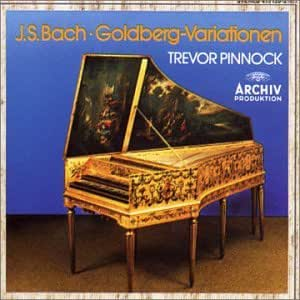 Bach: Goldberg Variations /Pinnock (harpsichord)
