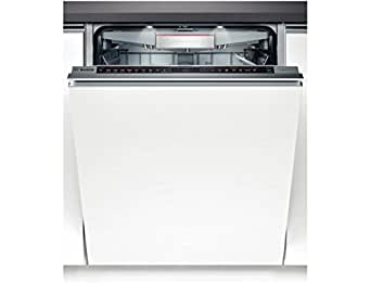 Bosch SMV88TX02E Entièrement intégré A+++ lave-vaisselle - Lave-vaisselles (Entièrement intégré, Noir, Acier inoxydable, 42 dB, A, 24 h, A+++)