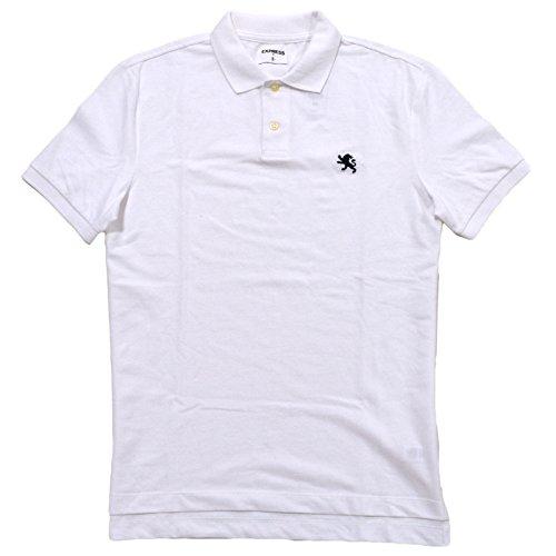 Express Herren Poloshirt Weiß