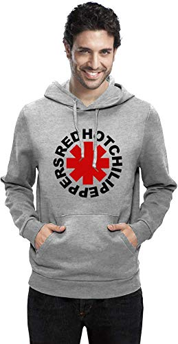 Red Hot Chili Peppers Logo Men Hoodie Sweatshirt Stylish Fashion Fit Custom Apparel by Small (Red Hot Chili Peppers-logo)