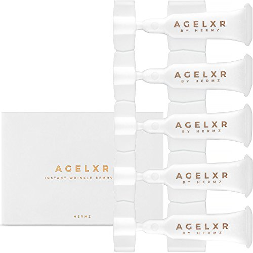 AGELXR - Instant Wrinkle Remover (30 Vials 0 6ml Each) - Quickly Tightens  Wrinkles, Fine Lines and Diminishes Puffy Eyes  Instant Facelift Serum -