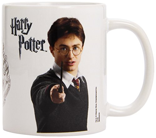 Harry Potter MG22379 - Cuenco de cereales, color blanco