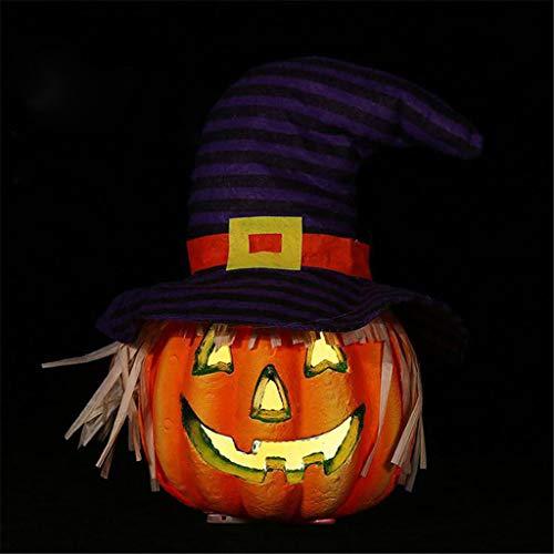 Baum Nymphe Kostüm - Ears Halloween Hollow Glowing Pumpkin