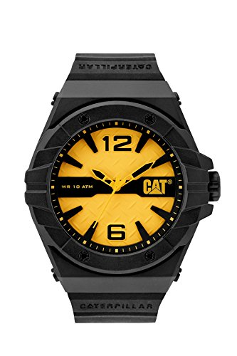 Cat relojes hombre lc11121731espíritu analógico pantalla Cuarzo Negro Reloj