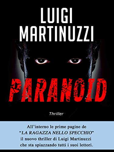 Paranoid - Il piano del male (Italian Edition) book cover
