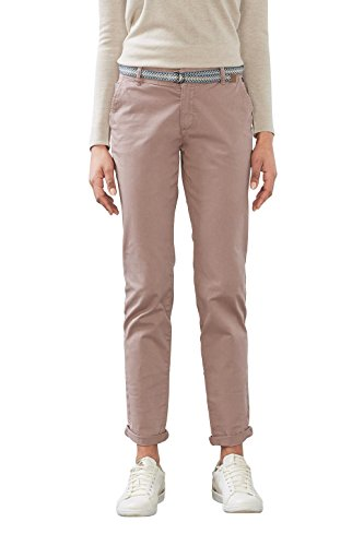 ESPRIT 997ee1b800, Pantaloni Donna Rosa (Old Pink)