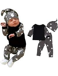 Riou Weihnachten Baby Kleidung Set Pullover Outfits Winteranzug Kinder Neugeborenes Baby Boy Kleidung Deer Tops... preisvergleich bei kinderzimmerdekopreise.eu