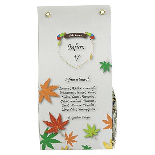 Delizioso Shop - infusión 17 - con lavanda, manzanilla, hierbas medicinales, Hypericum - Orgánica energizante Refrescante Relajante depurativa - 50 gr