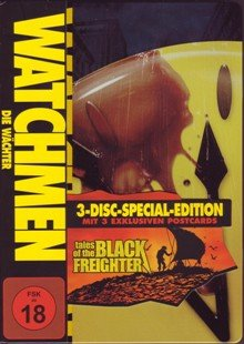 Watchmen - Die Wächter / Tales of the Black Freighter [Special Edition] [3 DVDs]