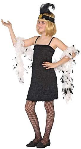 Fancy Me Mädchen 1920er Jahre Flapper-Tänzerin Great Gatsby Kostüm Outfit 3-12 Jahre (1920 Tänzerin Kostüm)