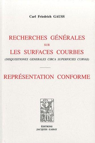 Recherches générales sur les surfaces courbes : Représentation conforme