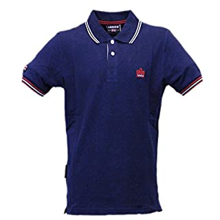 Admiral Polo Piquet Sportswear Logo Man, Navy Blue (Navy 039), blue navy, XL