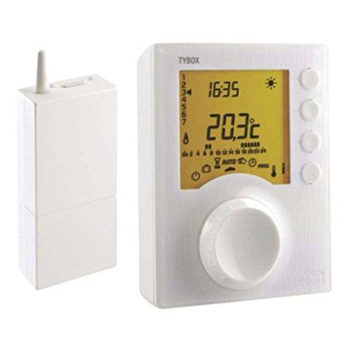 Delta Dore 6050416 Deltia 8.00 Thermostat d/'ambiance programmable /électronique filaire