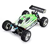 Ballylelly WLtoys RC Auto A959-B 2,4G 1/18 Skala 4WD 70 KM / h Elektro RC Auto RTR Offroad Buggy