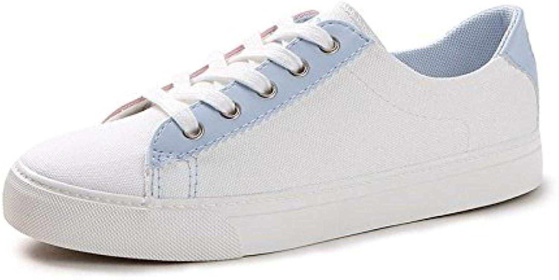 Koyi Zapatos de Lona de Las Mujeres Zapatos Blancos nuevos Estudiantes Zapatillas Chicas Alpargatas Zapatillas...
