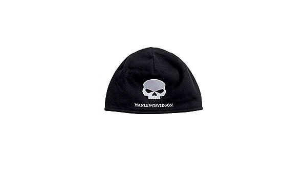 Harley-Davidson Men s Willie G Skull Cold Weather Fleece Hat 86604659e934