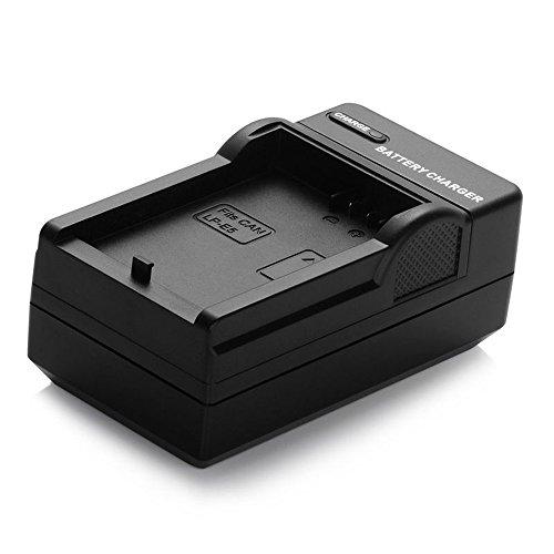 Yunchenghe LPE-17 Ultradünnes Kamera Akkus Ladegerät, Für Canon LP-E17 Batterie zu der Aufgelisteten Canon EOS, EOS Rebel & Kiss Serie Modelle Rebel Kiss