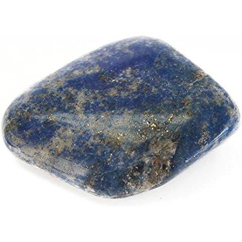 Blu Lapis Tumbled lucido pietra naturale