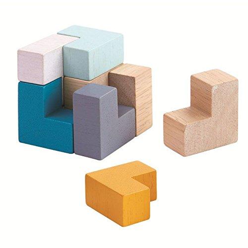Plantoys Puzle Cubo 3D 4134