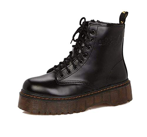 SED Bota de Mujer 'S Boots Thick Soles Martin Boots Punk Boots...