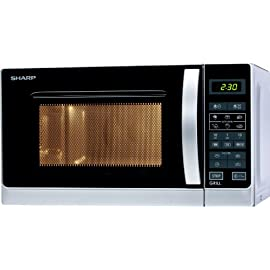 Sharp R-642INW Forno a Microonde, colore: Argento