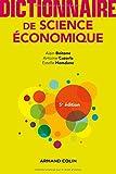 Dictionnaire de science économique - 5e éd.