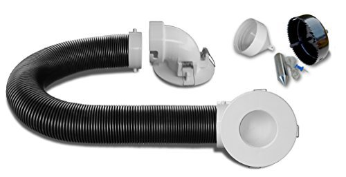 cableclear-Standard: Unterputzkabel Kabel Management für Wand montiert Tvs