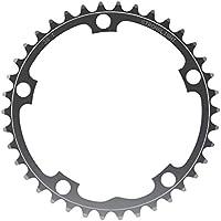PLATO de aluminio de 5 brazos STRONGLIGHT círculo de pernos 130 mm silb. diversos tamaños., kettenblatt zähne:54