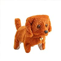 Bescita Music Light Cute Robotic Walking Electronic Pet Plush Buddy Dog for Child Kids Party Toys - Compare prices on radiocontrollers.eu