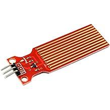 SM SunniMix Sensor De Agua De Lluvia Sensor De Nivel De Líquido para Arduino Liquid Rain
