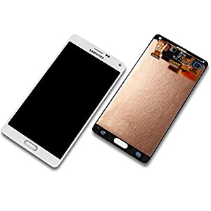 Network Shop | Samsung Galaxy Note 4 N910 F Display LCD Touch Screen Glas Komplett Weiß von Samsung