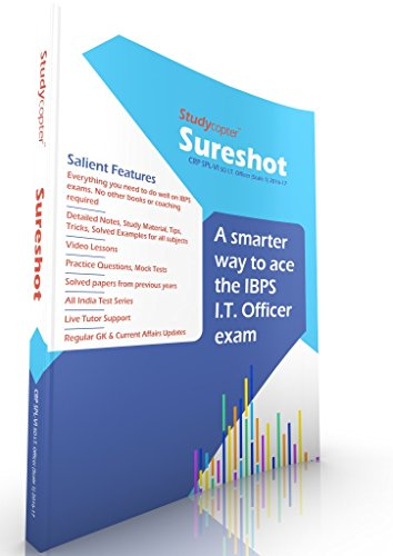 Sureshot IBPS SO (IT Officer Scale 1) Course - Exam 2016-17 (First Edition)