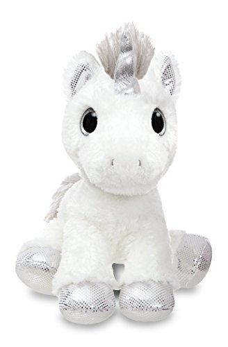 Aurora-World-60855-Sparkle-Tales-Twilight-Unicorn-Soft-Toy-Silver-12-Inch