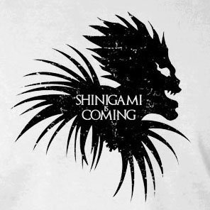 Shinigami is Coming - Stofftasche / Beutel Grün