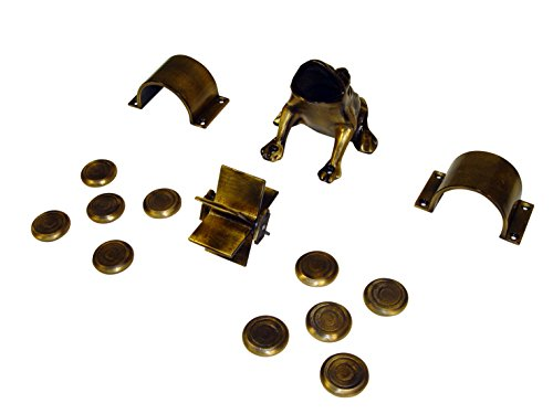 Imex El Zorro 71750Set Frosch Messing Patina, Gold, M