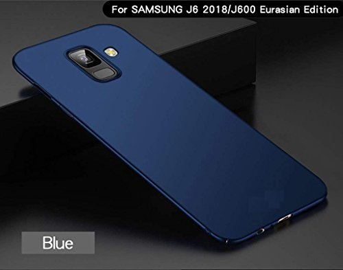 free shipping 19a32 821a5 MOBICLONICS Samsung Galaxy J6 Back Case Ultra-Slim (Anti-Scratch Resistant)  360 Degree Protection(Blue4cut Samsung Galaxy J6_1, Matte Blue)