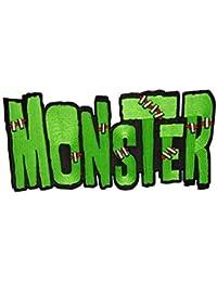 Kreepsville Gothic XL Aufnäher Patch Monster grün schwarz rot