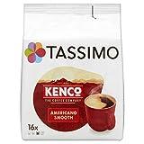 TASSIMO Kenco Cafe Crema 16 T DISCs (Pack of 5, Total 80 T DISCs)