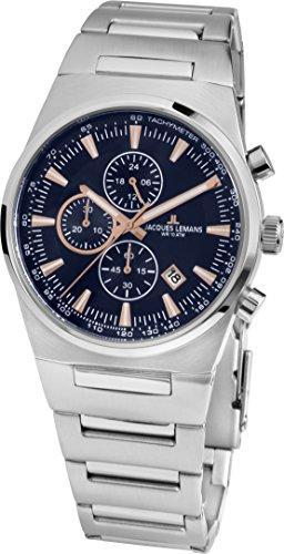 Jacques Lemans Damen-Armbanduhr 1-1738B