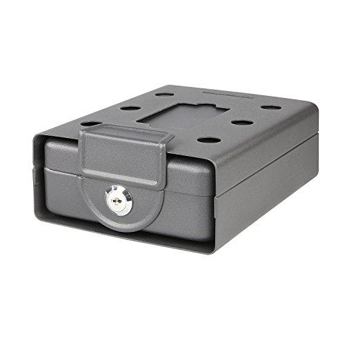 HMF 307-02 Dokumentenbox anschraubbar für Wohnmobil, Boot etc. 20,0 x 15,5 x 7,0 cm , schwarz - 3