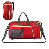 Sporttasche Reisetasche Rucksack, YoursTech Faltbarer Fitnesstasche Duffel Gym Bag, 32 Liter...