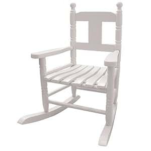 Powell craft sedia a dondolo bianco bambino for Sedia a dondolo amazon