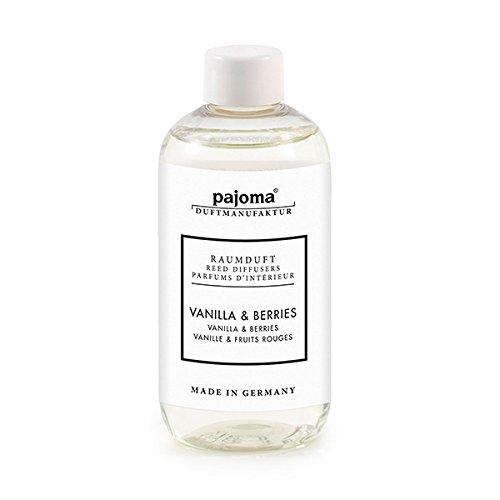 Raumduft Nachfüllflasche Vanilla & Berries, 1er Pack (1 x 250 ml) von pajoma