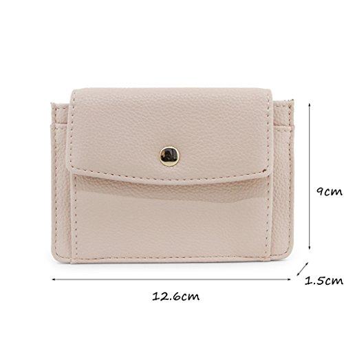 CLOTHES- Borsa da moneta da borsa della borsa della moneta del raccoglitore femminile Versione coreana della borsa quadrata personalizzata semplice della personalità ( Colore : Light pink ) Light pink